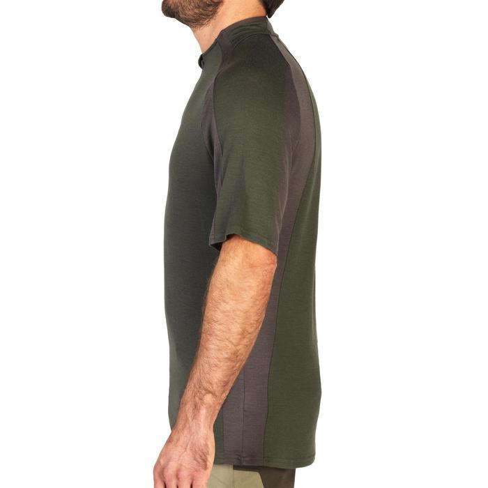 Tee shirt SG900 Laine Merinos manches courtes vert - 1342636