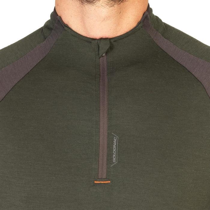 Tee shirt SG900 Laine Merinos manches courtes vert - 1342637