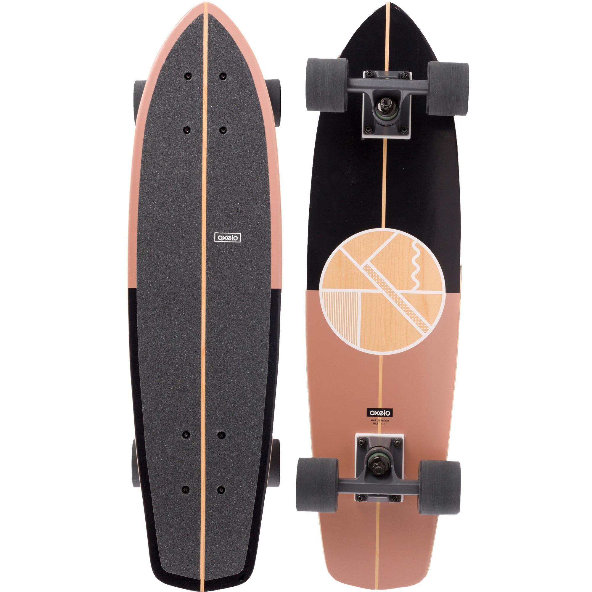 Oxelo Cruiser Skateboard Yamba hout Coper