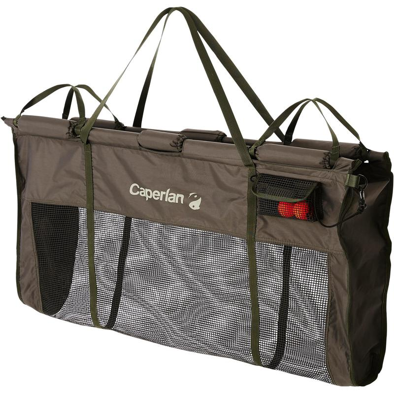 CARP FISHING FLOATING WEIGH AND PROTECTION BAG-9