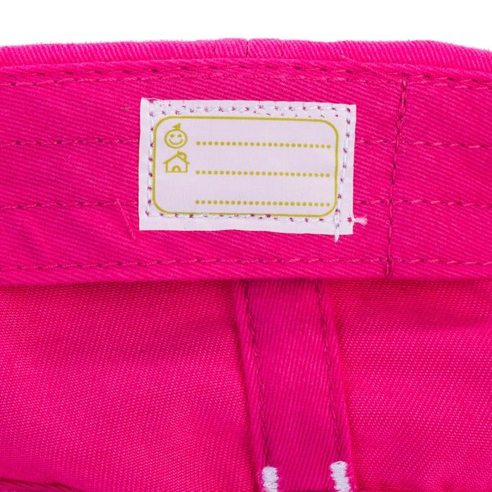 Casquette 500 Gym Baby imprimé rose - 1342937
