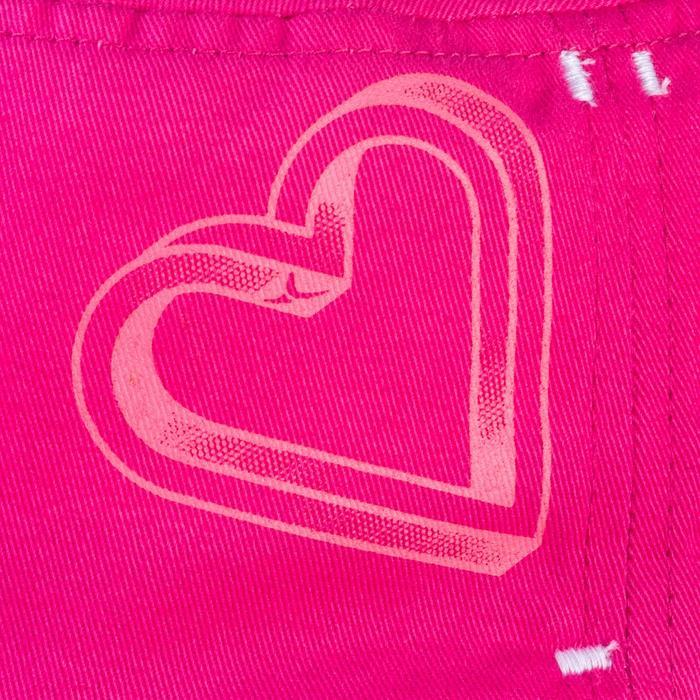 Casquette 500 Gym Baby imprimé rose - 1342941
