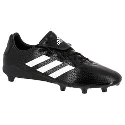 Chaussures de rugby terrains secs adulte Rumble noir