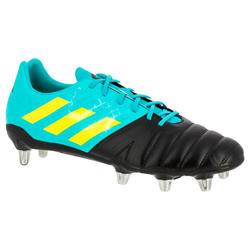 Chaussures rugby adulte 8 crampons Kakari SG noir/vert