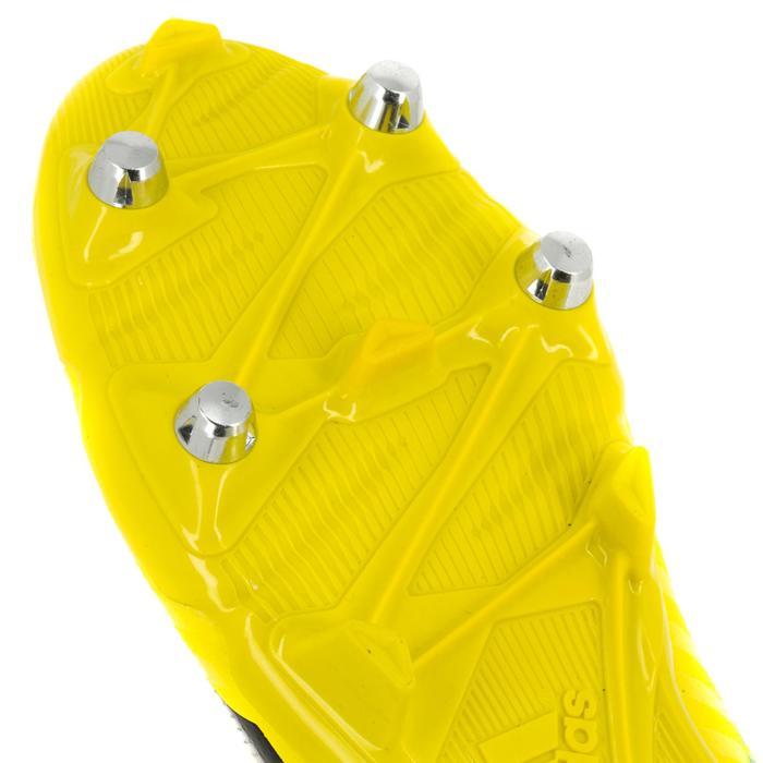 Rugbyschoenen voor volwassenen hybride Adidas Malice SG geel/groen