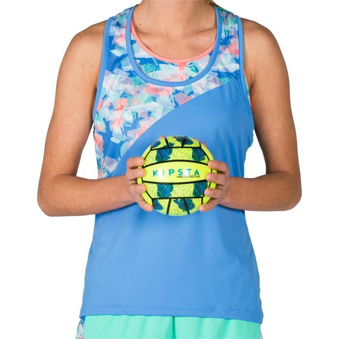 Mini ballon de beach-volley BV100 jaune et - 1343240