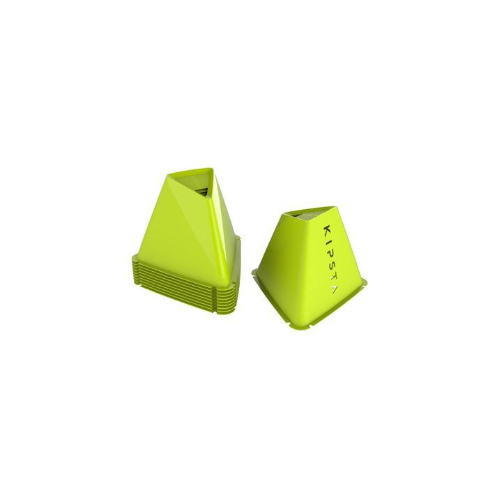Trainingshütchen Pylonen Essential 15cm 6 Stück gelb