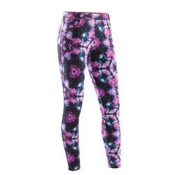 Dameslegging voor dans-workouts print
