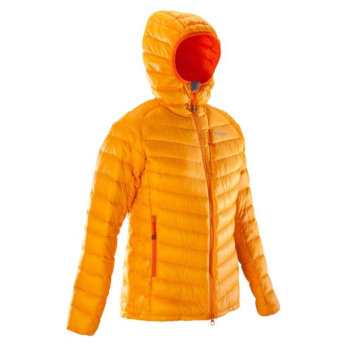 Dames donsjas Light voor alpinisme mango