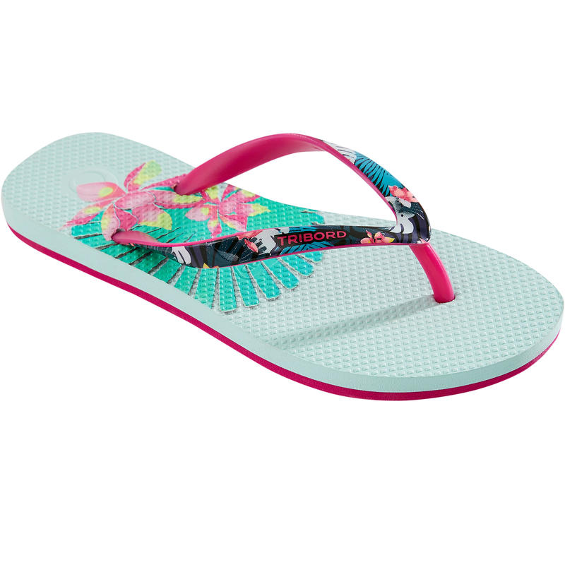 Girls' Flip-Flops 500 - Jungy