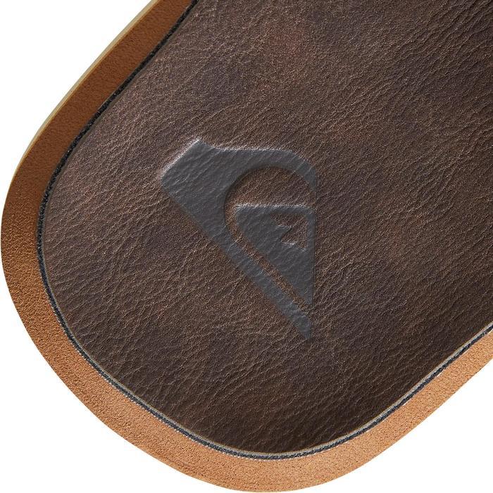 Herenslippers Quiksilver Carver bruin
