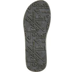 TONGS HOMME CARVER Quiksilver marron