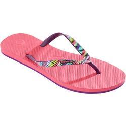 女款夾腳拖鞋TO 500-爵士款粉紅色