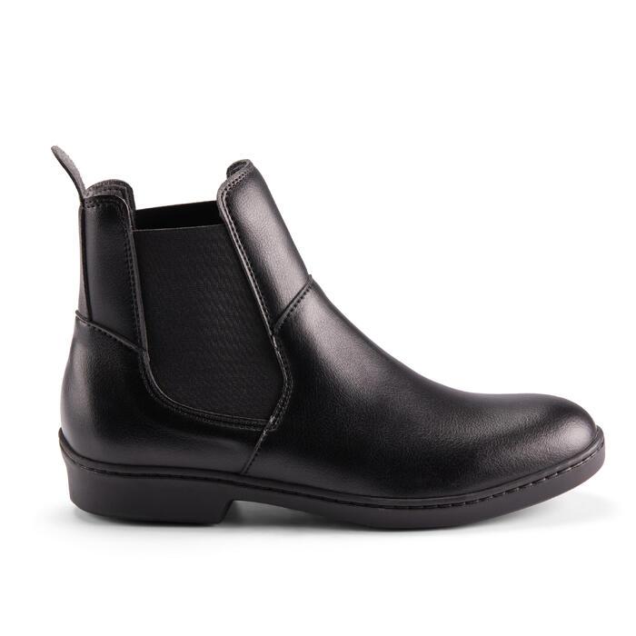 Boots équitation adulte 500 noir