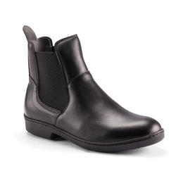 500 Adult Horseback Riding Jodhpur Boots - Black