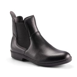 500 Adult Horse Riding Jodhpur Boots - Black
