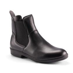 成人款短馬靴500-黑色