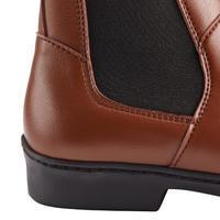 Boots équitation adulte 500 marron
