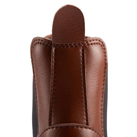 Boots équitation adulte 500 marron - Adultes