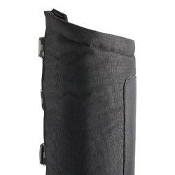 Warme rijlaarzen met klittenband voor volwassenen zwart