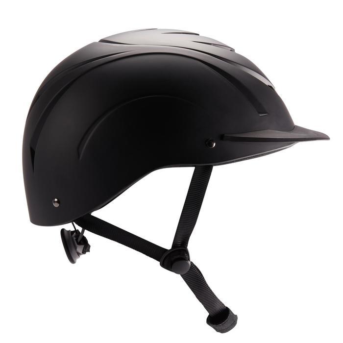 Casque équitation 500 noir