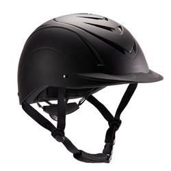 500 Horseback Riding Helmet - Black