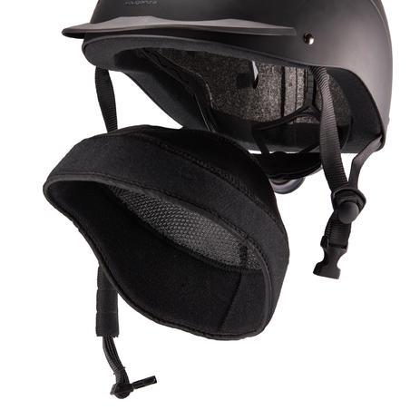 Casco de Equitación Fouganza 500 Negro