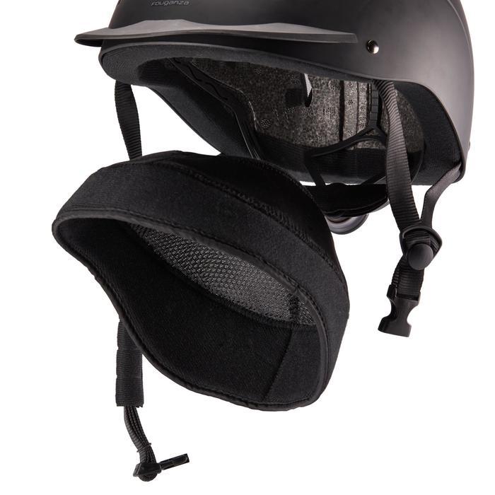 Paardrijcap 500 zwart