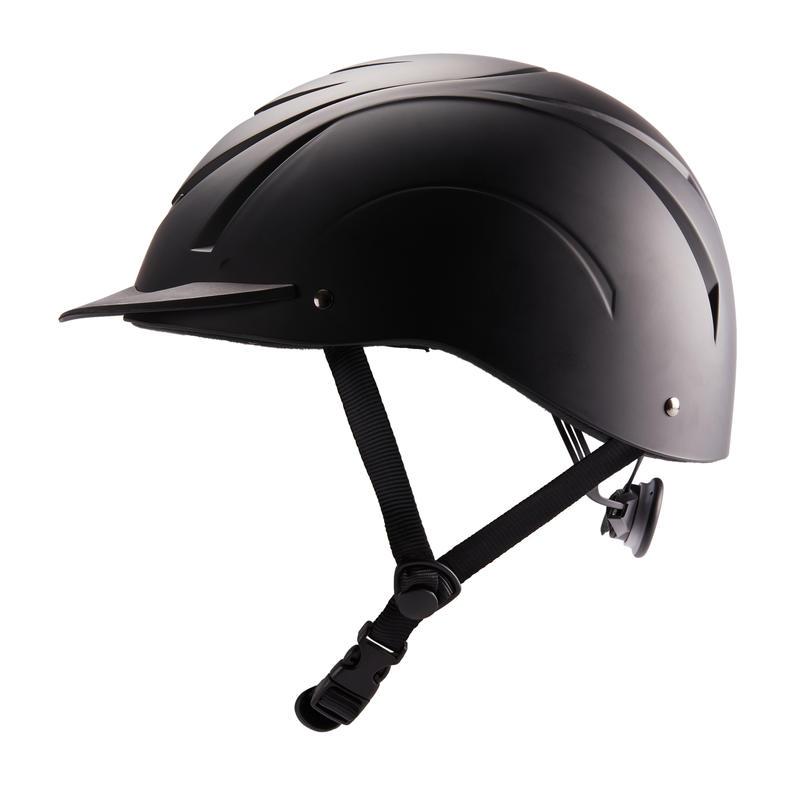 หมวกกันน็อคสำหรับขี่ม้ารุ่น 500 (สีดำ)