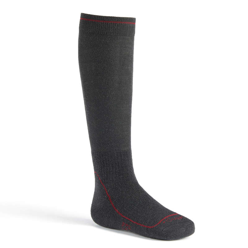 COLD WEATHER RIDING AD. GLOVES SOCKS - 500 Warm Socks - Grey