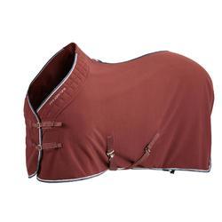Chemise d'écurie équitation cheval et poney POLAR 500 bordeaux