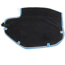 Nierendecke Polar Fleece Pony/Pferd marineblau