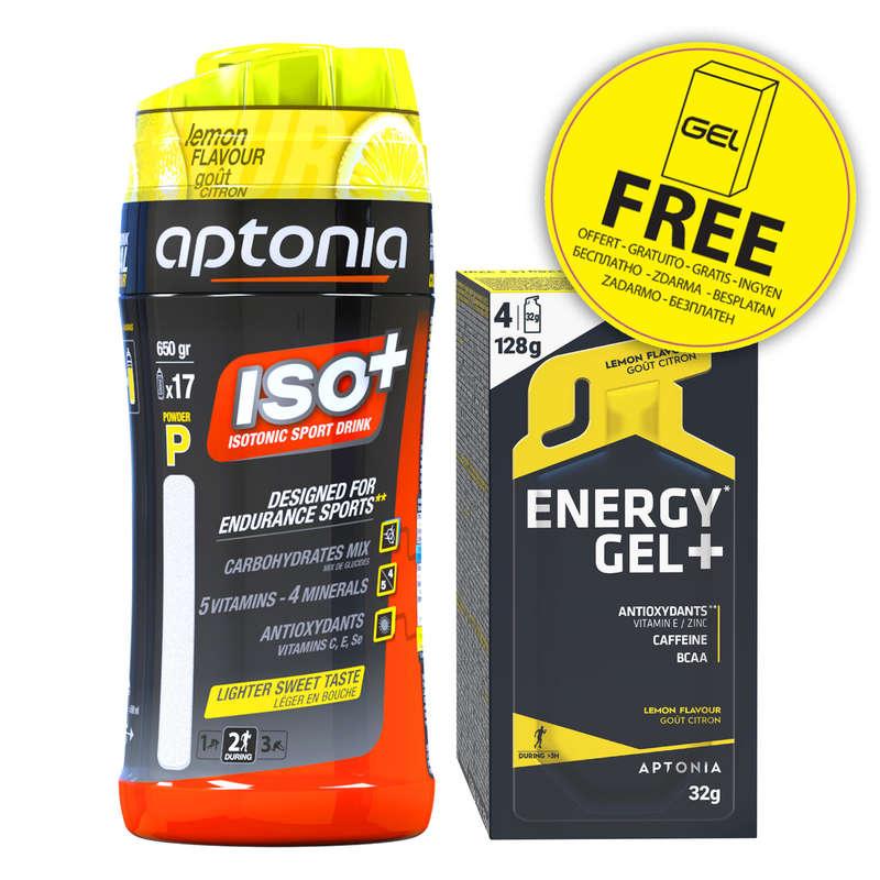 Sportgetränke, -Pulver und Trinkflaschen Radsport - ISO+ & GEL FREE Zitrus APTONIA - Sportnahrung, Regeneration