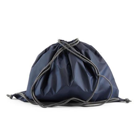 Bolsa para casco plegable equitación azul marino