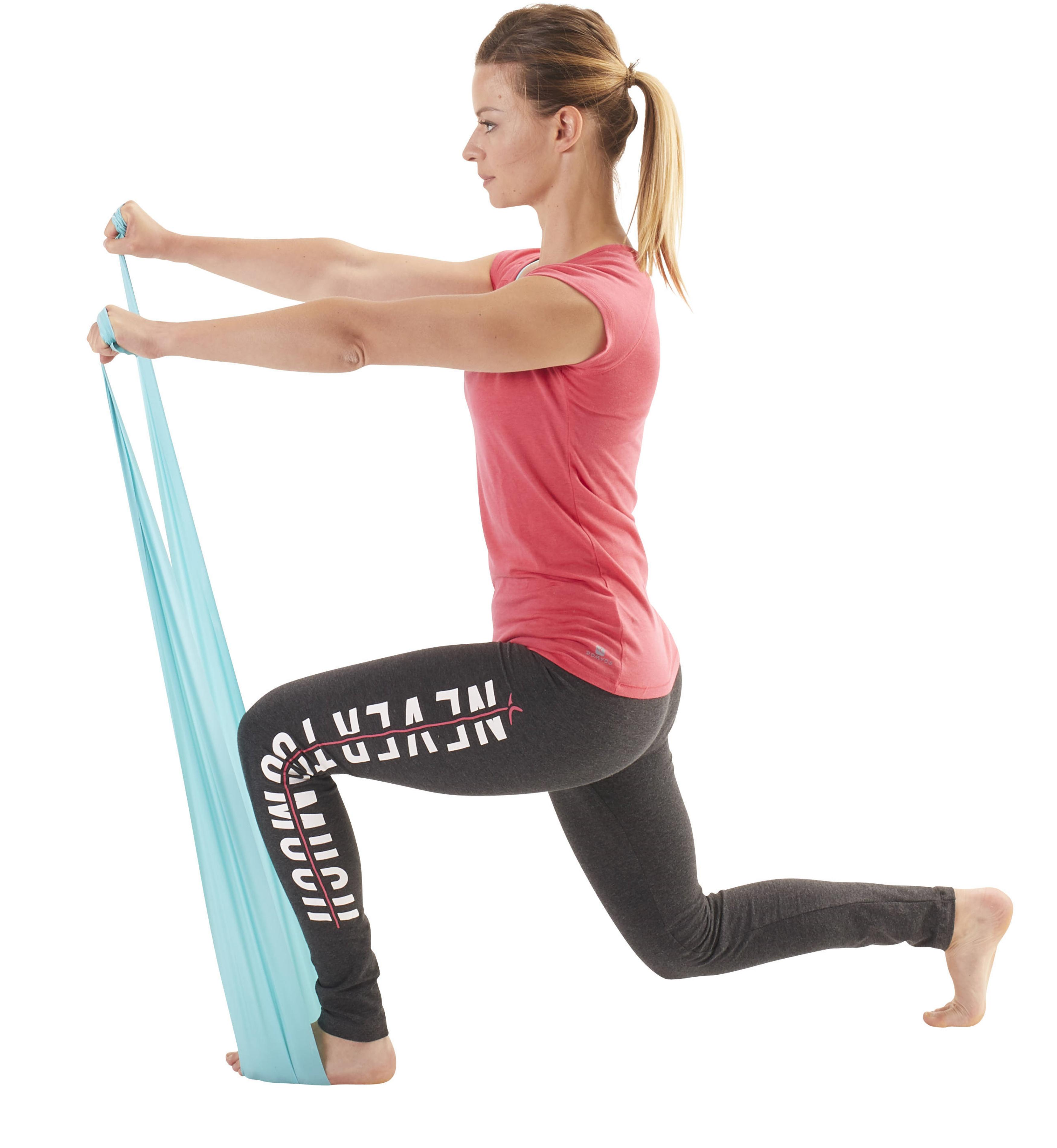 Adjustable Toning Gym Elastic Band Level Easy