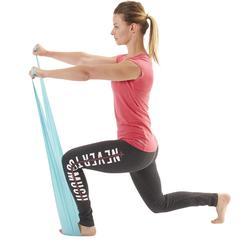 Weerstandsband voor figuurtraining of gym light