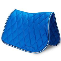 Mantilla silla Equitación Fouganza 500 Poni Y Caballo Azul