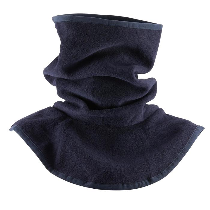 Rundschal Fleece Reiten Kinder marineblau
