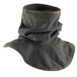 Braga cuello y pechera de fibra polar equitación niños gris oscuro