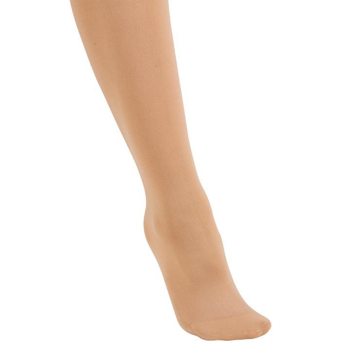 Strumpfhose mit Fuß Eiskunstlauf Erwachsene