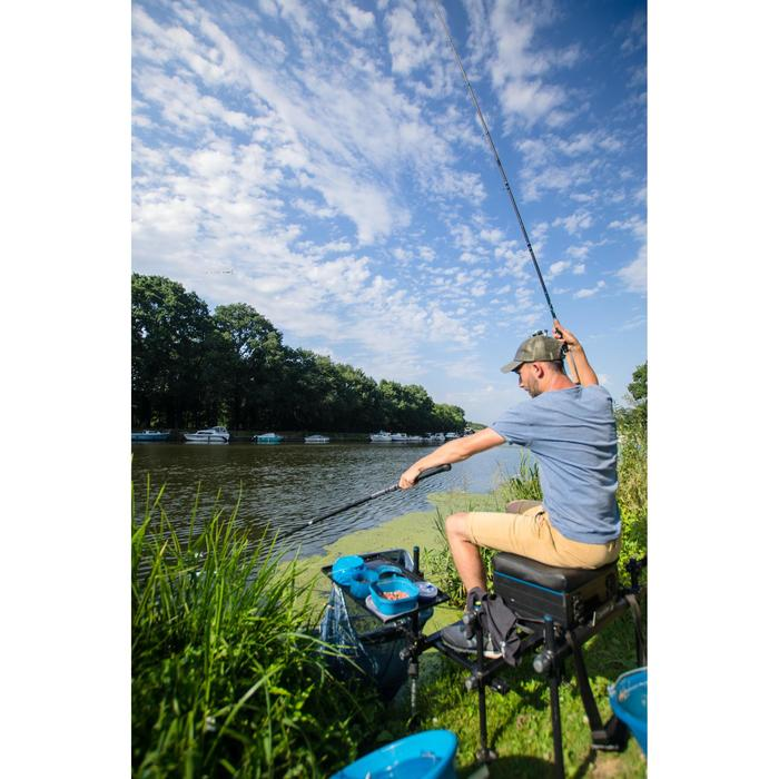 Set steel en kop van schepnet Net 300 voor statisch vissen