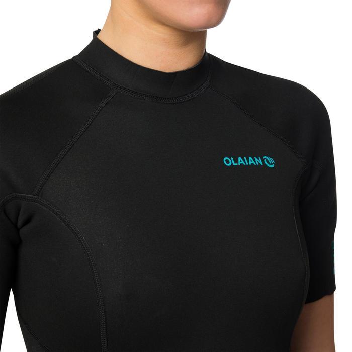 Neopreen surfpak shorty 100 voor dames 1,5 mm zwart - 1344368