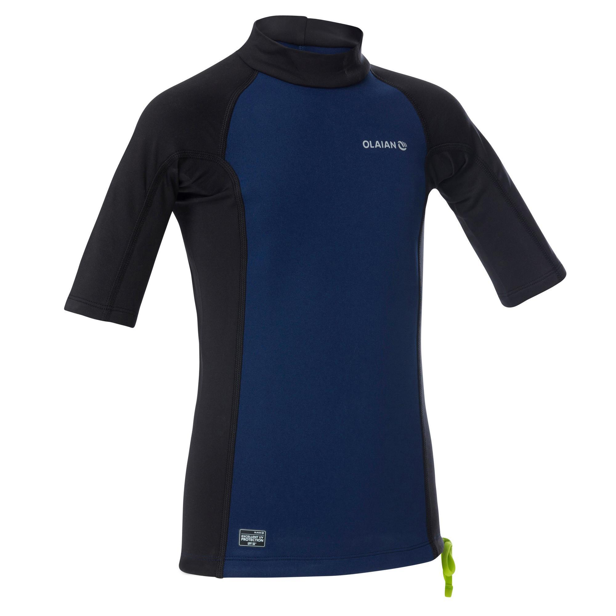 4090cc1ffe5392 Surf rashguards en UV shirts kinderen | Decathlon