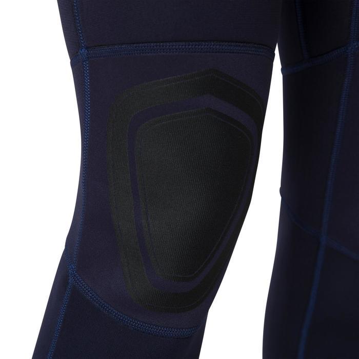Combinaison SURF 100 Néoprène 2/2 mm femme Bleu marine