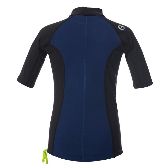 tee shirt anti UV surf top néoprène thermique manches courtes enfant - 1344406