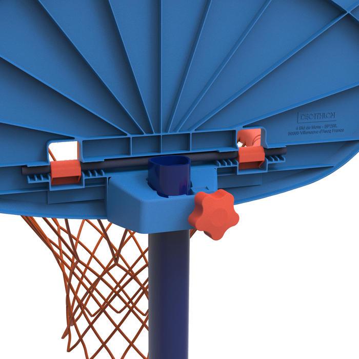Panier de basketball pour enfant K100 Monstre bleu. 0,9m à 1,2m. Jusqu'à 5 ans.