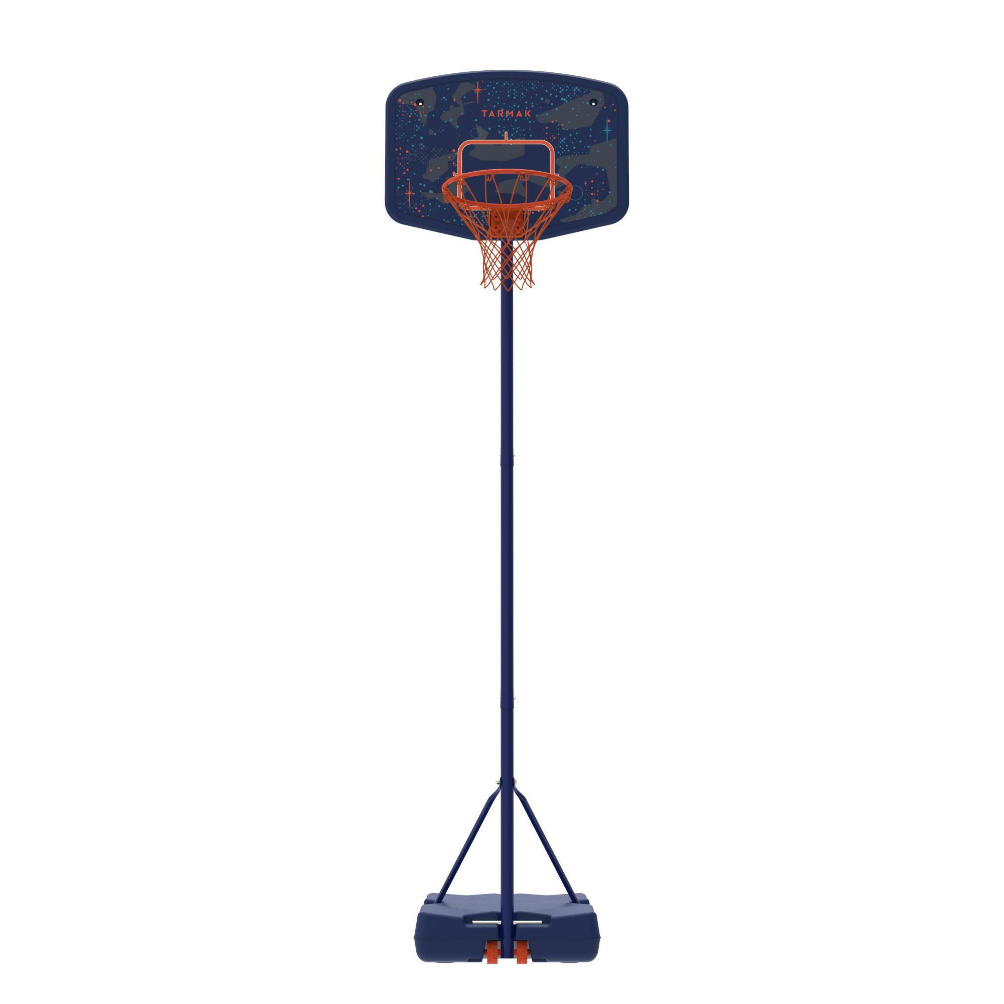 tarmak panier de basket enfant b200 easy bleu espace 1. Black Bedroom Furniture Sets. Home Design Ideas