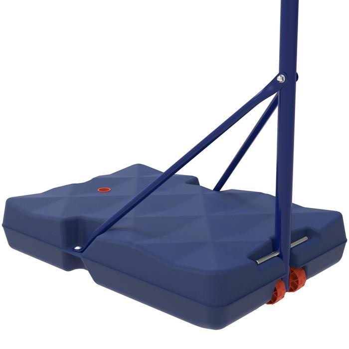 Panier de basket enfant B200 EASY bleu espace. 1,60m à 2,20m. Jusqu'à 10 ans. - 1344449