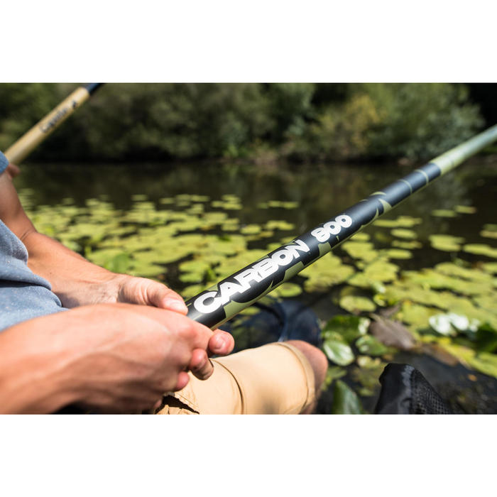 Canne à emmanchement  pêche au coup POLE CARBONE 800 - 1344460
