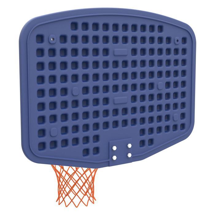 Panneau de basket B200 EASY bleu espace à fixer au mur. Enfant jusqu'à 10 ans. - 1344494